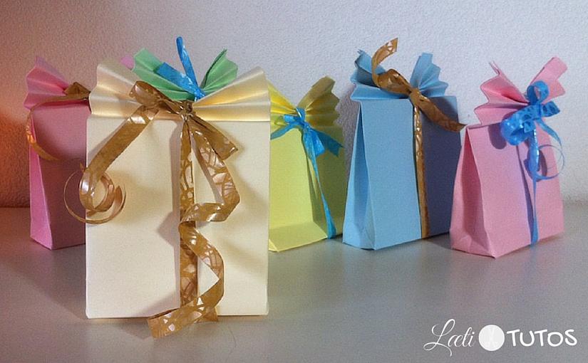 Fabriquer un petit paquet cadeau en papier pour de jolies surprises
