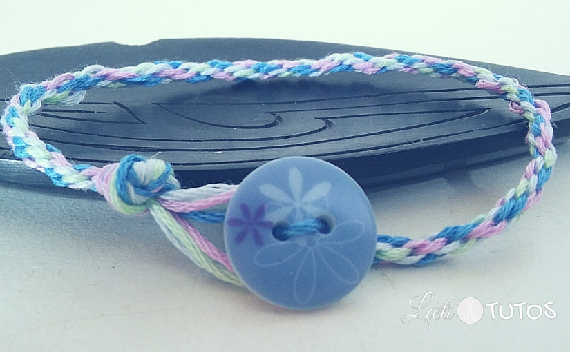 Et si on fabriquait un bracelet brésilien rond et facile ?