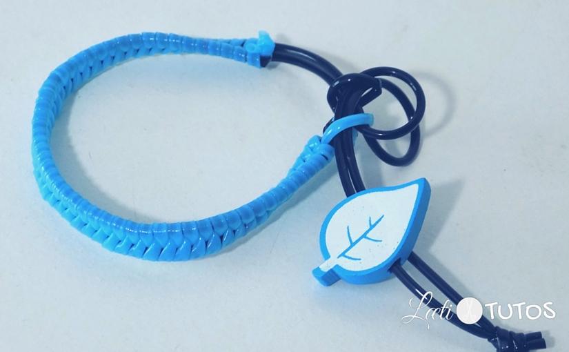 Comment faire un bracelet tressé en scoubidou (Tutoriel)