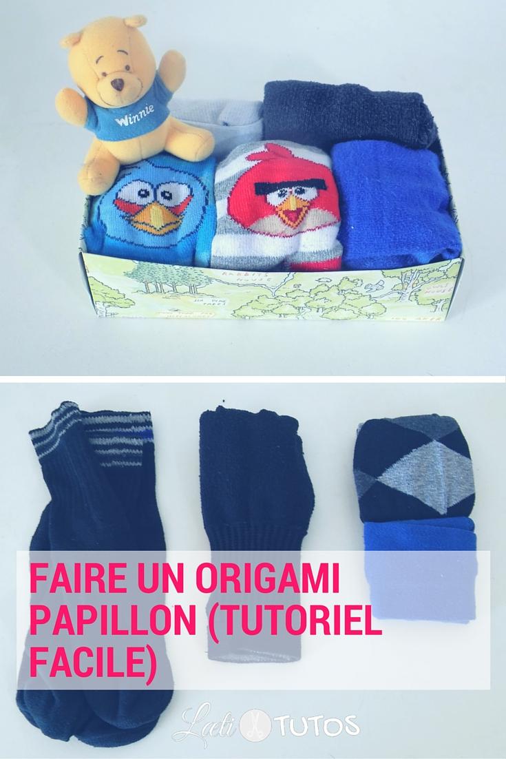 Une petite astuce pour plier ses chaussettes et gagner plein de place dans l'armoire ! - sur www.LaetiTutos.fr