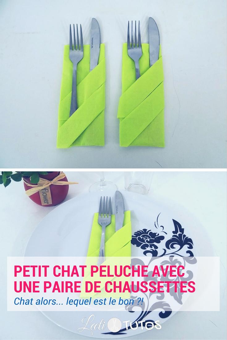 Envie de faire une belle table ? A vos serviettes ! Voici la pochette range couverts ! - sur www.LaetiTutos.fr